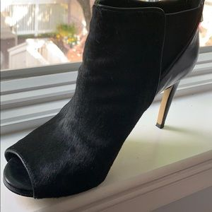 3/4 open toe boots